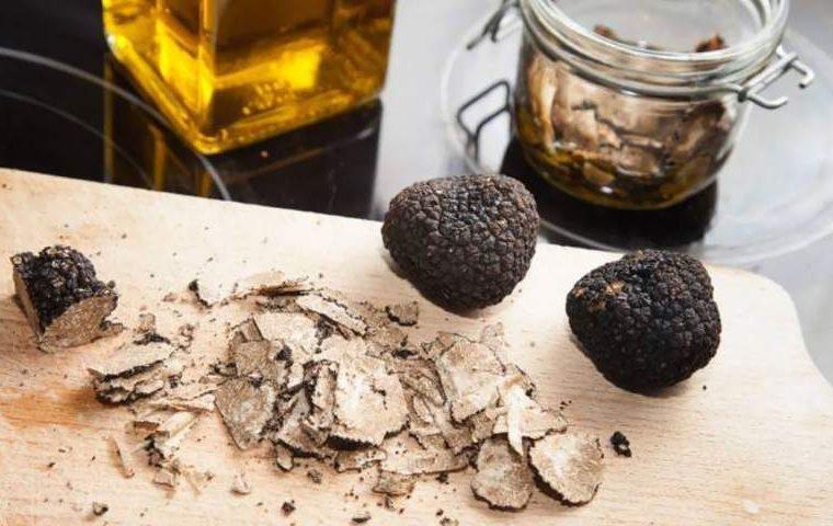 olio aromatizzato tartufo